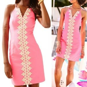 Lilly Pulitzer Pearl Shift Dress Pink